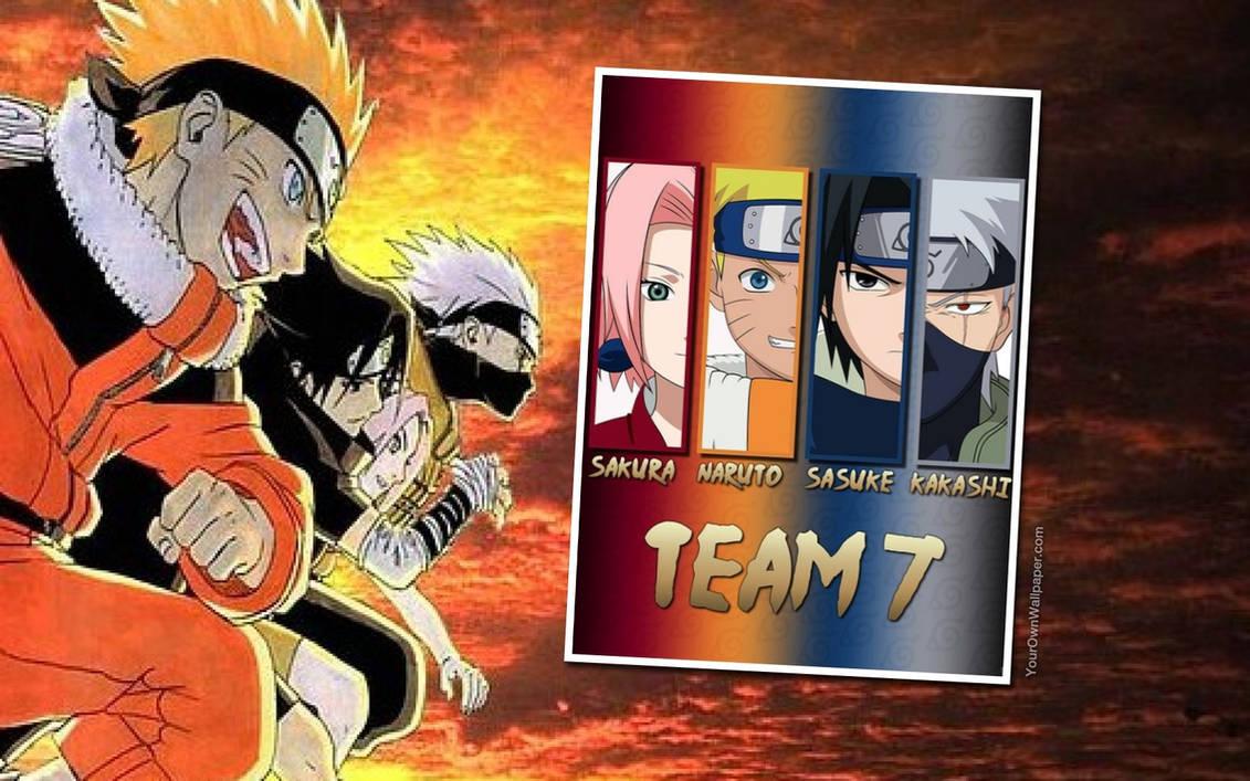 Sakura Naruto Sasuke Kakashi Wallpaper By Weissdrum On Deviantart