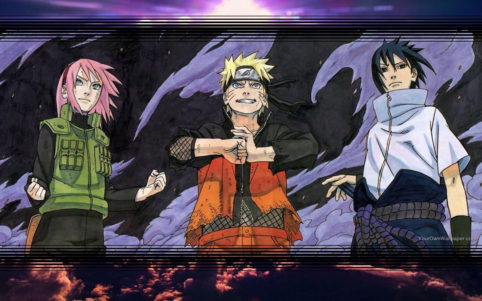 Naruto Team Reborn Wallpaper Weissdrum
