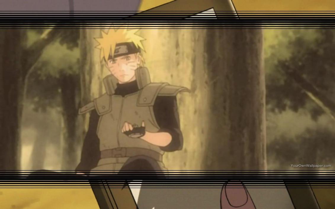 Naruto Gutsy Ninja Wallpaper 2 by weissdrum