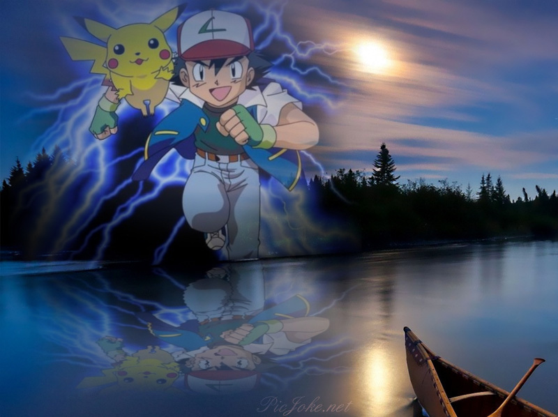 Ash and pikachu wallpaper 2 by weissdrum on deviantart - Ash and pikachu wallpaper ...