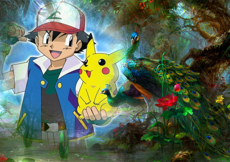 Ash and pikachu wallpaper 3 by weissdrum on deviantart - Ash and pikachu wallpaper ...