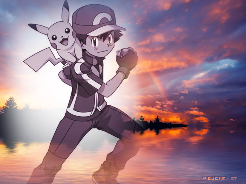Ash and pikachu wallpaper 4 by weissdrum on deviantart - Ash and pikachu wallpaper ...