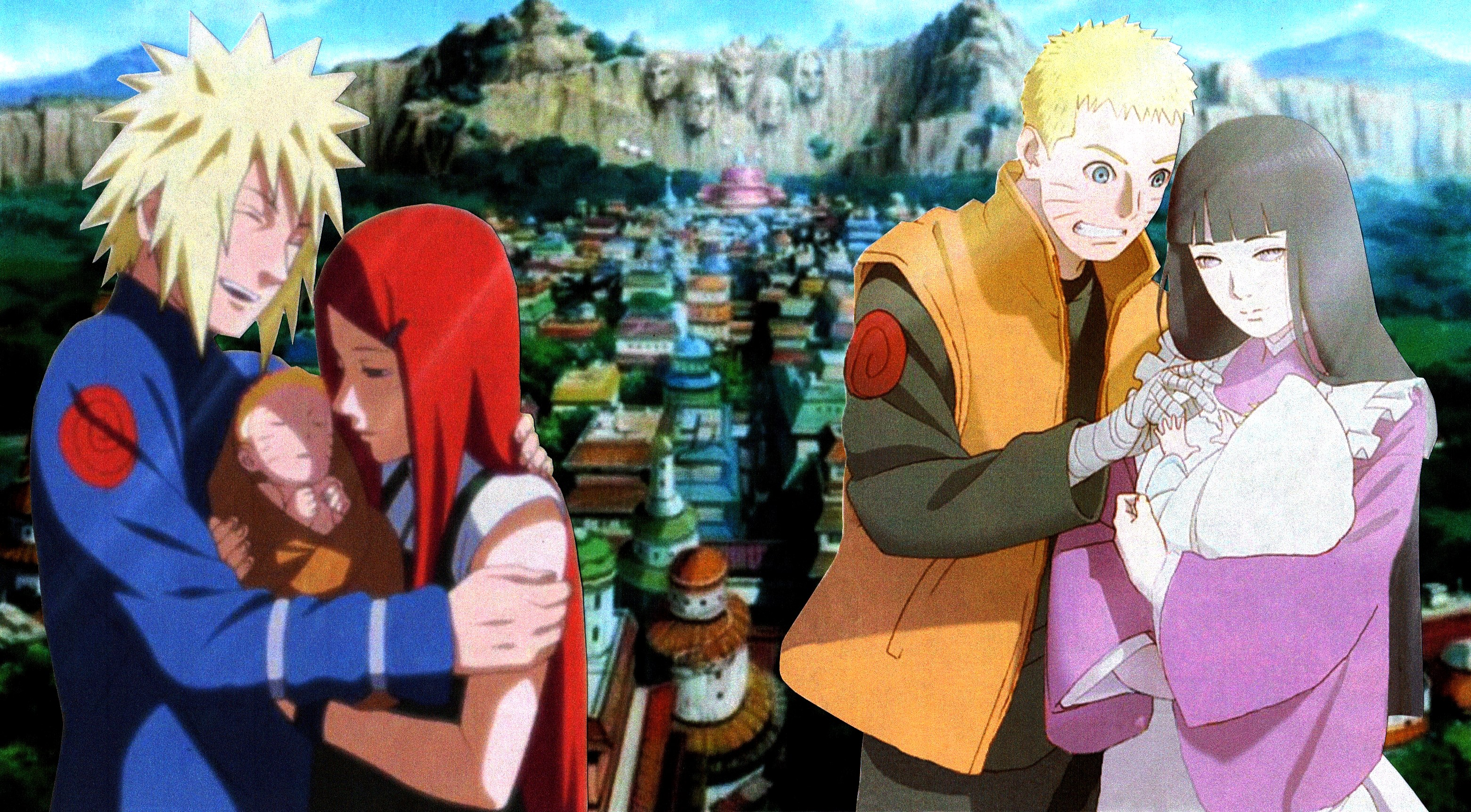 Naruto Family Generations Wallpaper 2 By Weissdrum On Deviantart