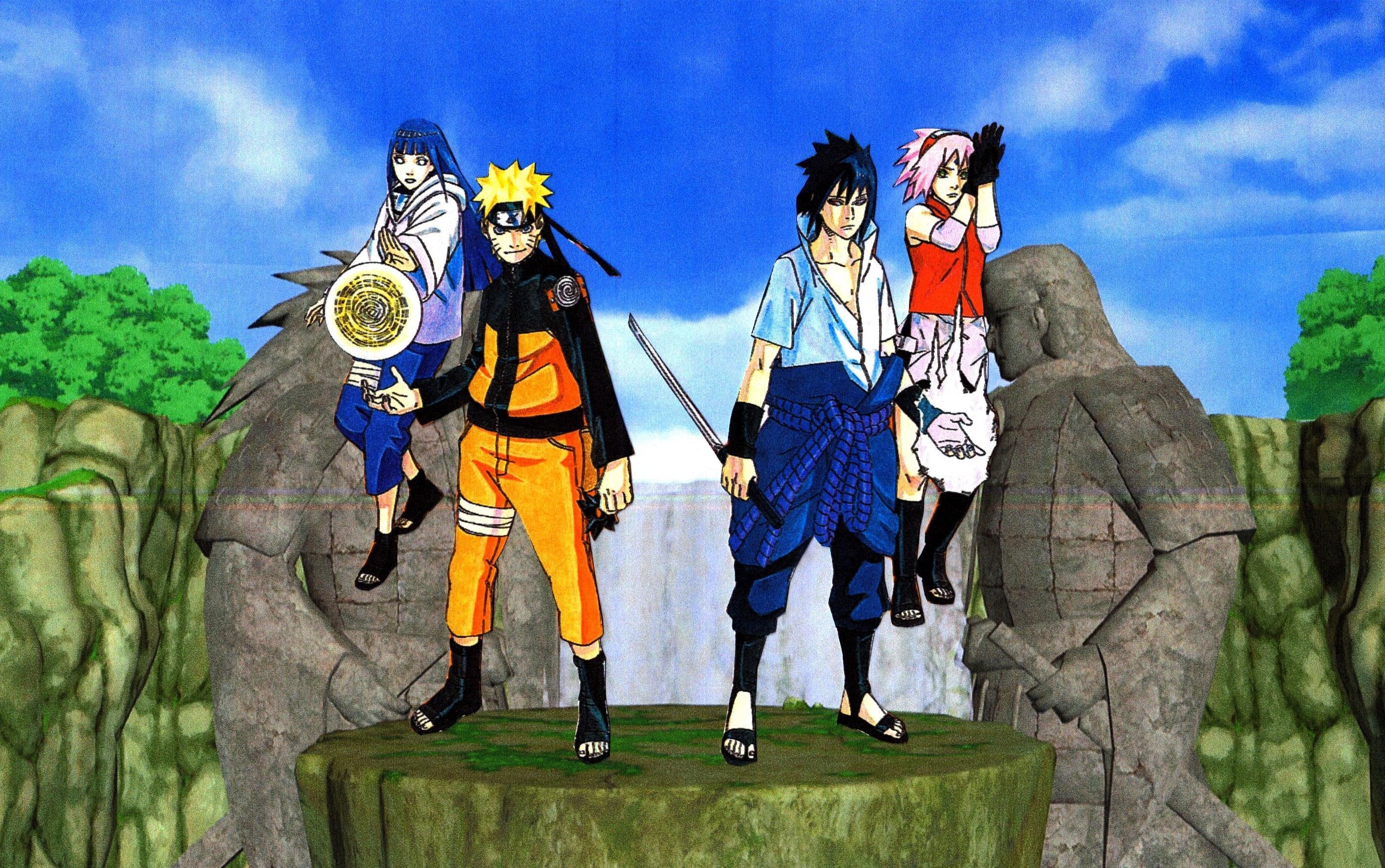 Naruto Hinata Sasuke Sakura Wallpaper 2 By Weissdrum On Deviantart