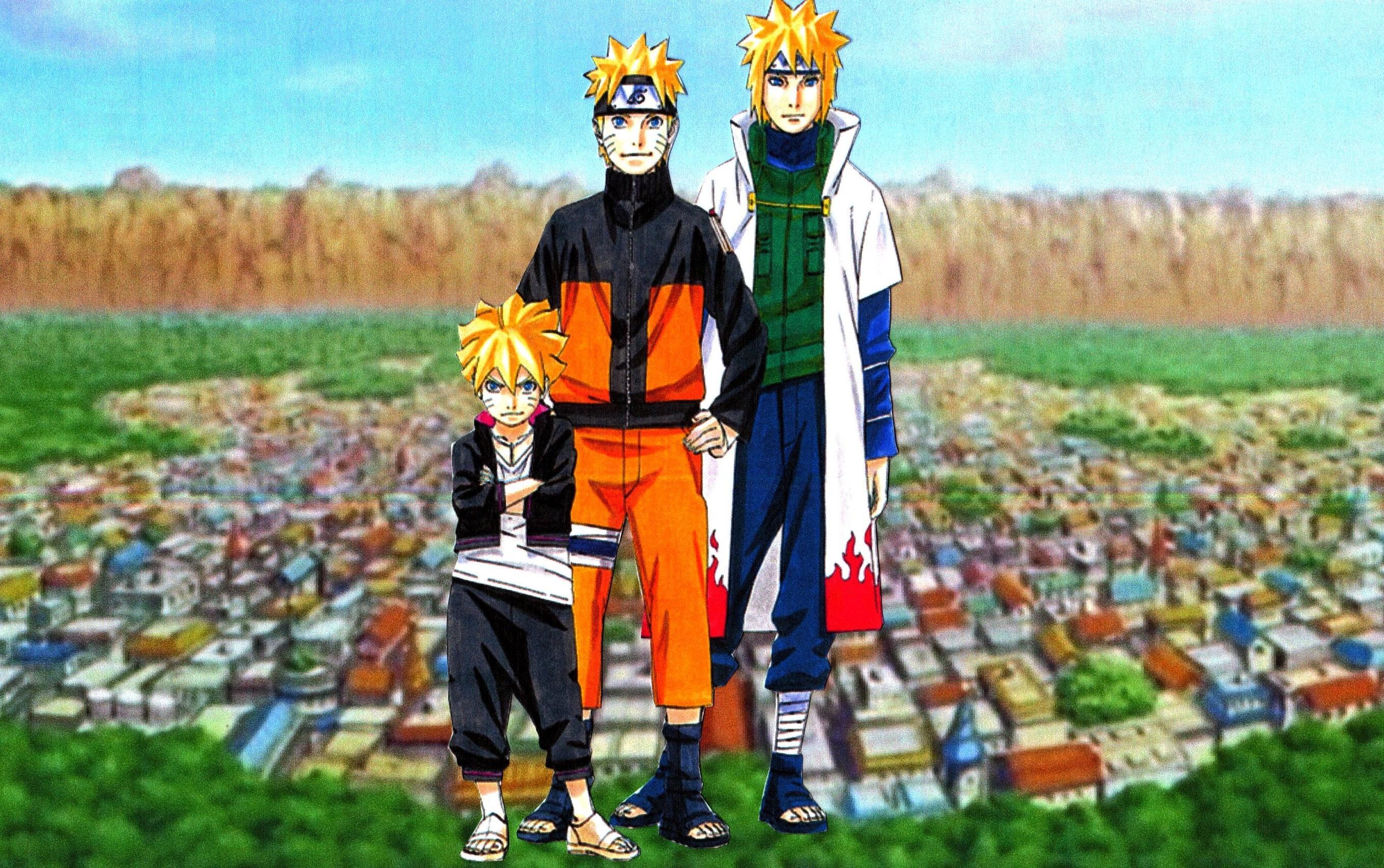 Minato Naruto Boruto Wallpaper 2 by weissdrum on DeviantArt