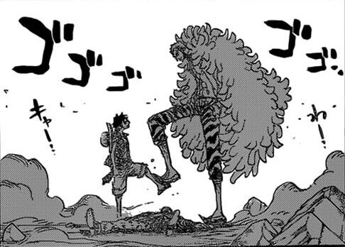 luffy_saves_law_from_doflamingo_by_weiss