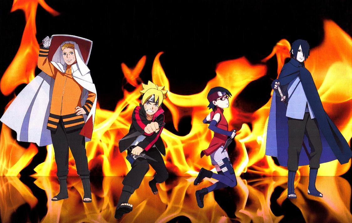 Must see Wallpaper Naruto Boruto - naruto_sasuke_boruto_sarada_fire_wallpaper_2_by_weissdrum-d8zjegg  You Should Have_201210.jpg