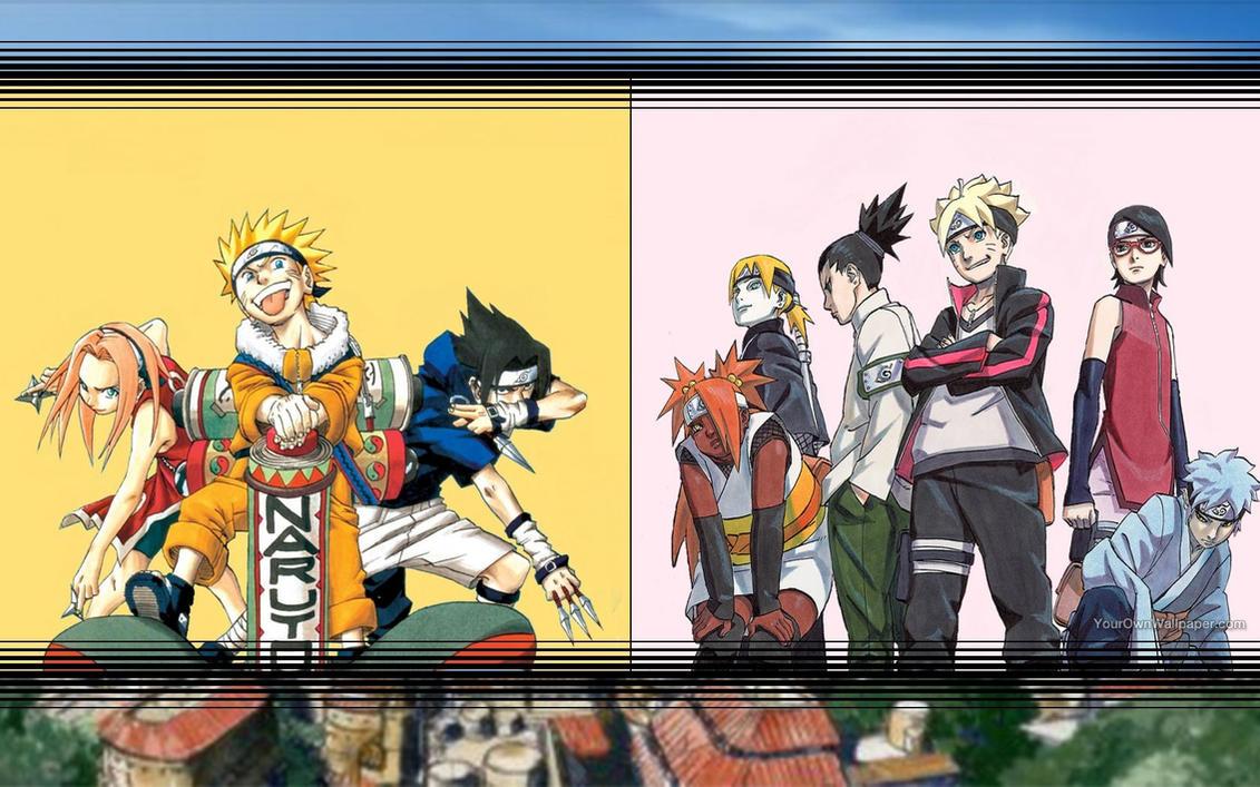 Naruto And Boruto Era Wallpaper By Weissdrum