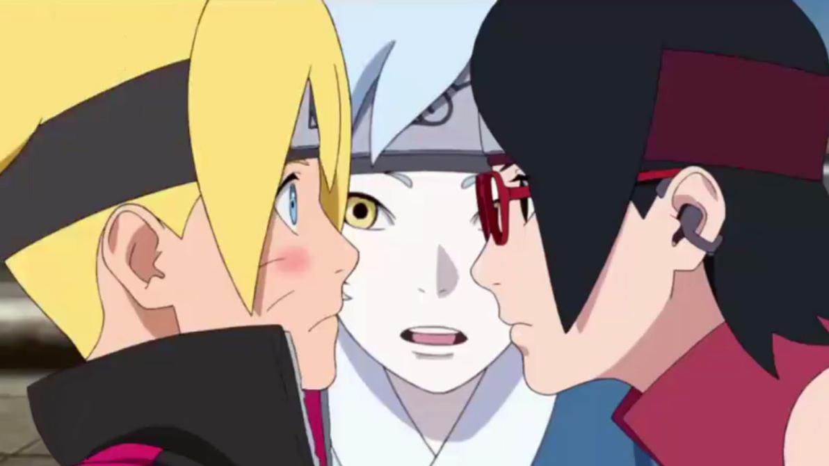 Boruto Sarada Mitsuki Faces So Close By Weissdrum On DeviantArt Naruto Senki