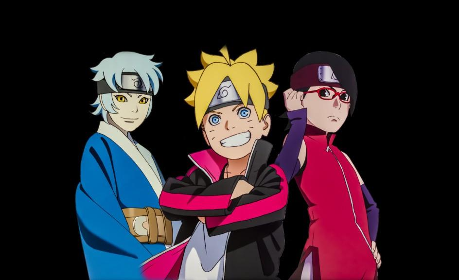 Group Of Boruto Team Wallpaper