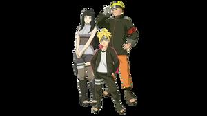 Naruto Hinata Boruto Render