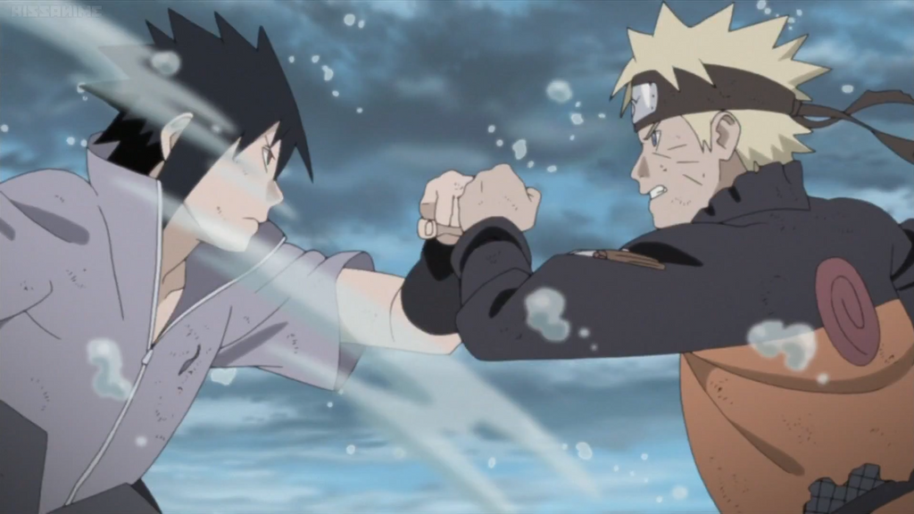 Naruto vs Sasuke Final Battle Begins by weissdrum on