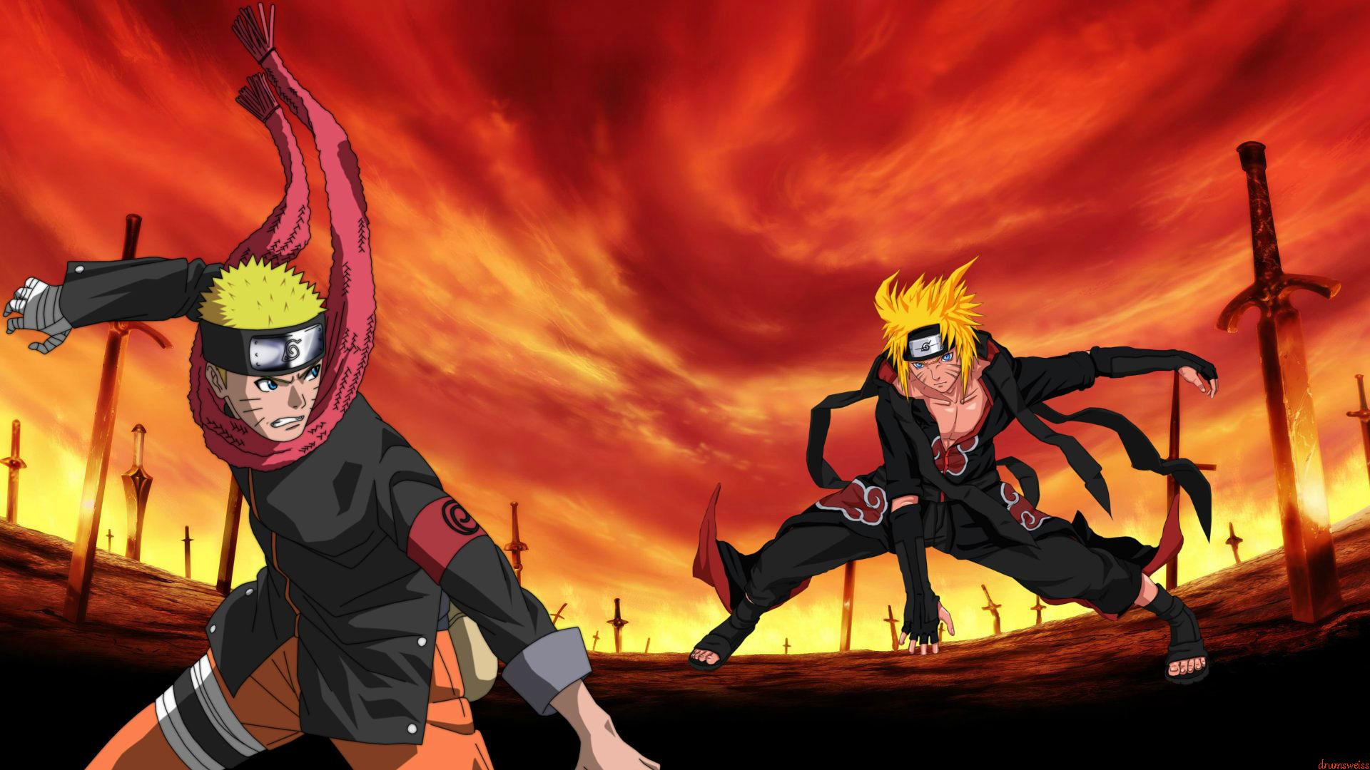 Naruto Vs Akatsuki Naruto Wallpaper By Weissdrum On DeviantArt