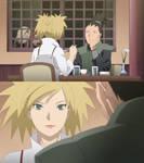 Shikamaru and Temari Eating Together