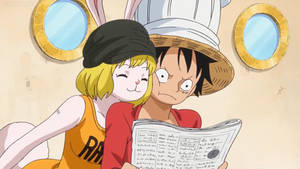 Luffy and Carrot Newspaper