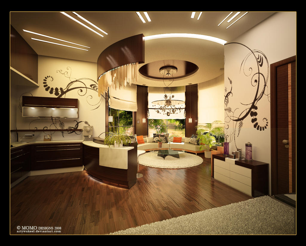 Gym living room 2 by artywakeel on deviantart Living room gym