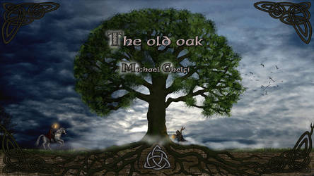 The Old Oak  - Album cover with title