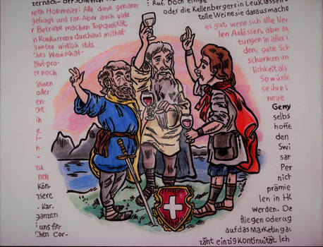 La Suisse 1 Aout 1291