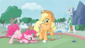 Pony mini-golf
