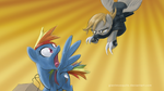 Pony ninja attack wallpaper