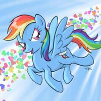 Rainbow Dash by GiantMosquito