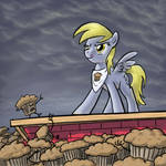 Derpy vs. the Muffin Men
