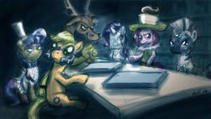 Evil League of Evil ponies