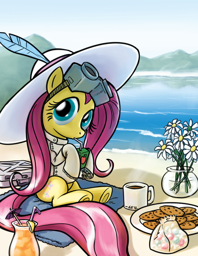 Dr Adorable on vacation by GiantMosquito