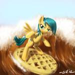 NATG Day 10: A Pony Waffling / Surf's Up!