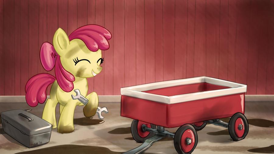 NATG Day 11: A Pony Fixing Something
