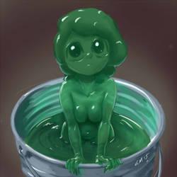 Monster Girl Challenge 03 - Slime