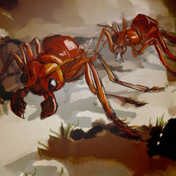 Fallout Equestria Bestiary: Giant Ants