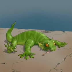 Fallout Equestria Bestiary: Green Gecko