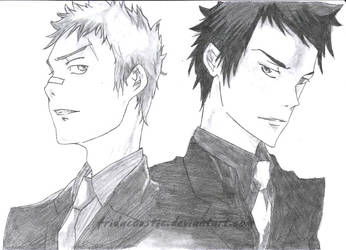 Ryohei and Yamamoto by Fridacoustic
