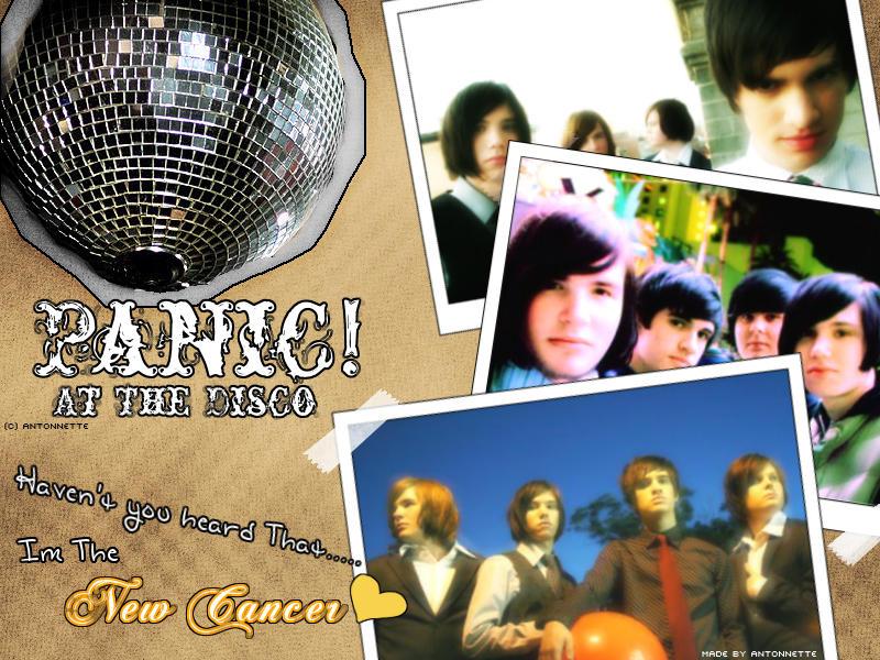 disco wallpaper. Panic At The Disco Wallpaper