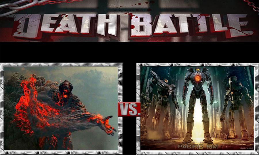 DEATH BATTLE: Jaegers de Pacific Rim Vs. Cronos by temus ...