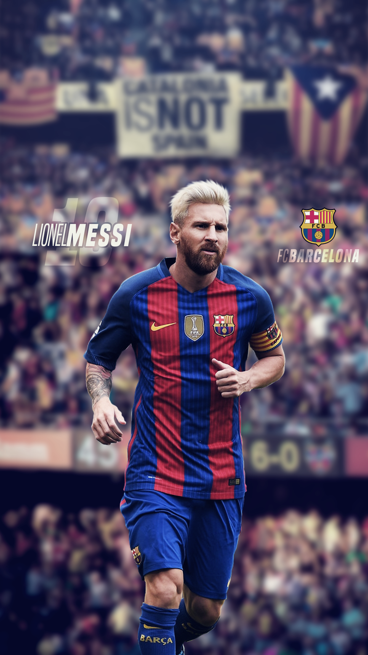 Messi Iphone Wallpaper By Imdestructiconor On Deviantart