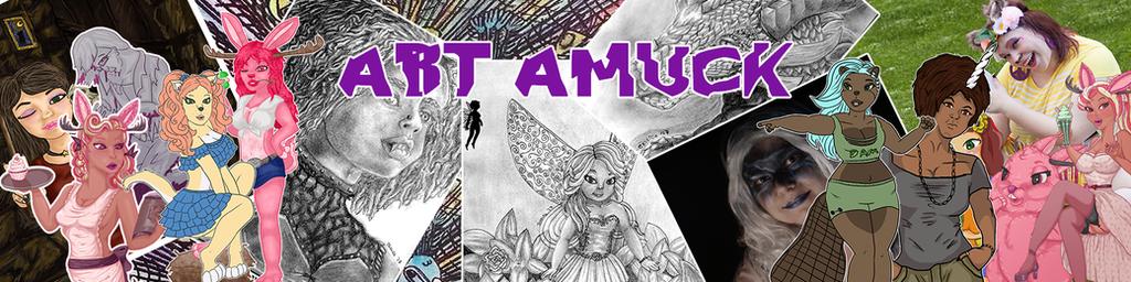 Art Amuck by evillion21