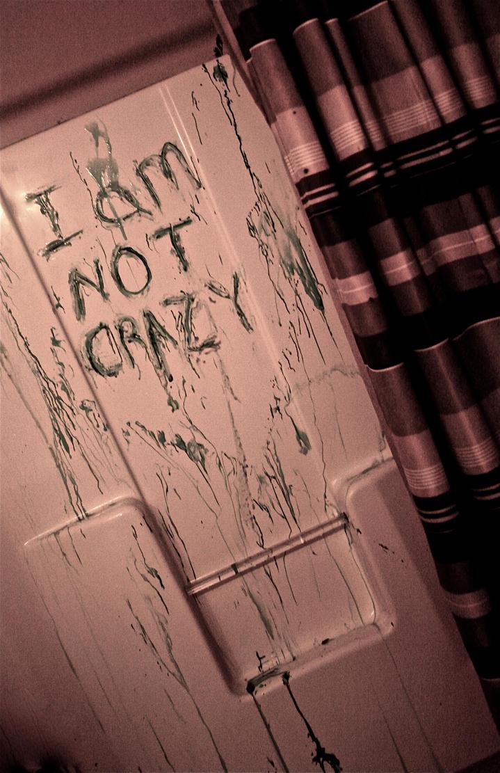 I Am Not Crazy by KendraKayKayKamera