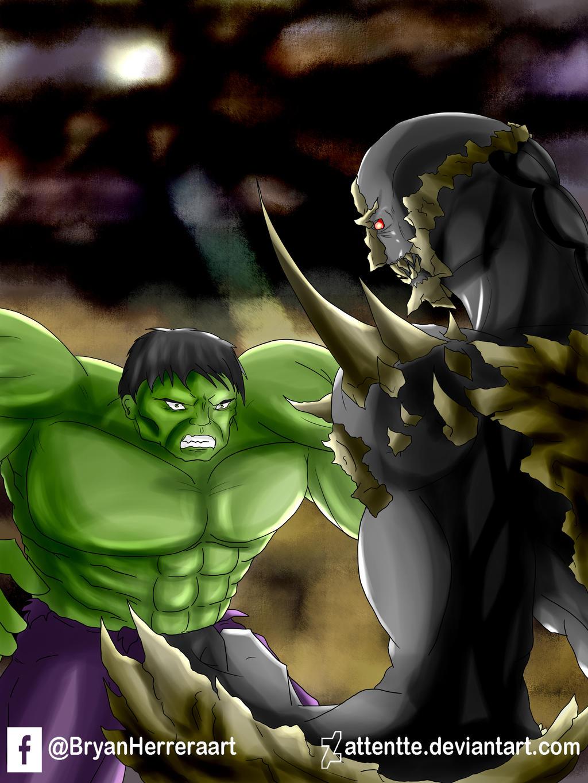 Hulk vs Doomsday by Attentte on DeviantArt Doomsday Vs Hulk Who Wins