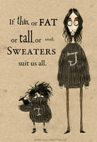 Ode To Sweaters by Kritzelkrams