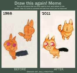 Draw this again Meme - Jollyversion by Kritzelkrams