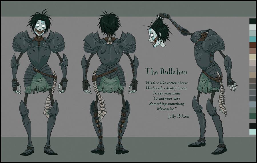 Dullahan Character Sheet by JollyRotten