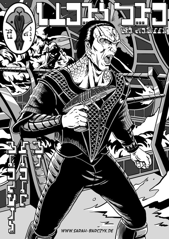 Star Trek - Terok Nor Comic by JollyRotten