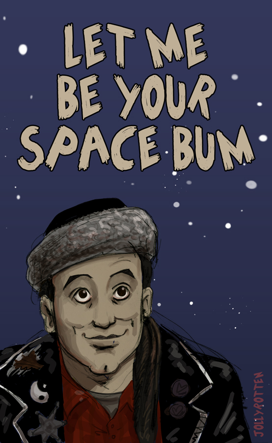Red Dwarf Valentine Card - Lister by JollyRotten