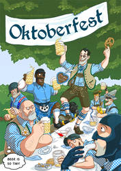 Oktoberfest by Kritzelkrams