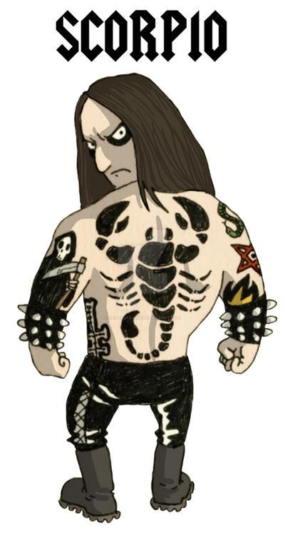 Scorpio - Metal Zodiac