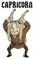 Capricorn - Metal Zodiac