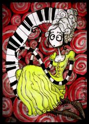 Girl Anachronism +clip+ by Kritzelkrams