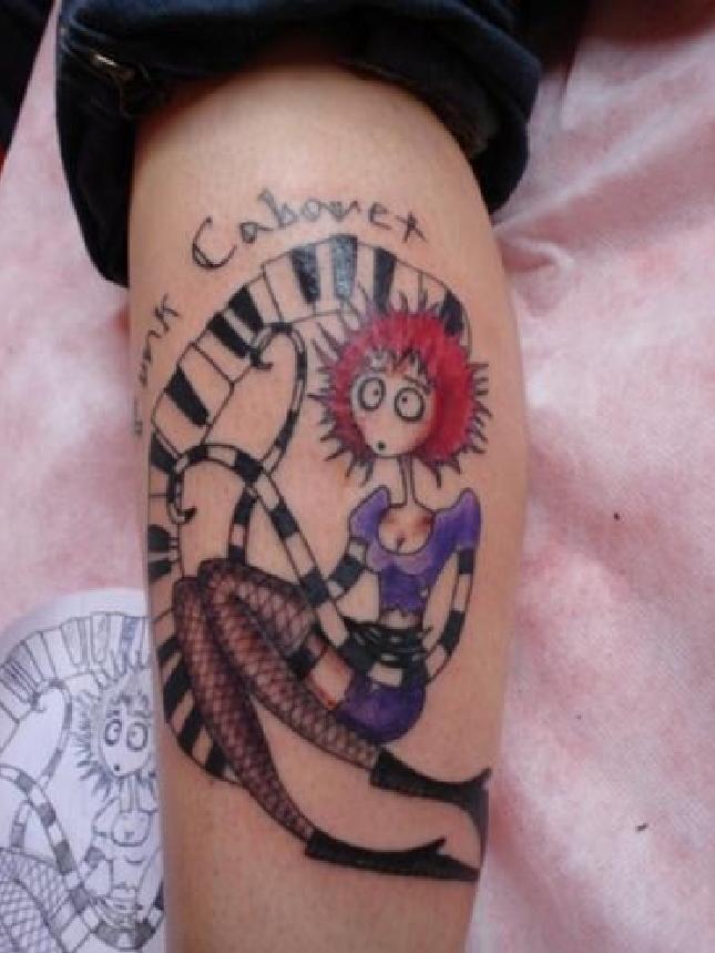 Dresden Dolls Tattoo